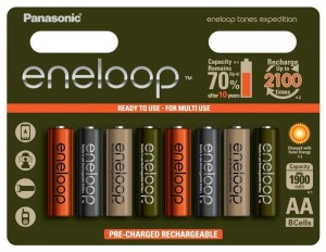 Panasonic Eneloop 8 x akumulatorki Tones Expedition R6/AA 2000mAh (blister)