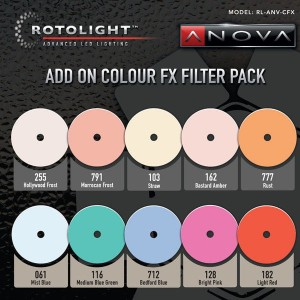 Rotolight 10 Piece Add on Colour FX Pack