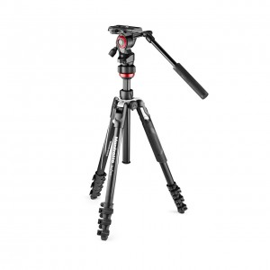 Zestaw Manfrotto BEFREE Live Lever czarny