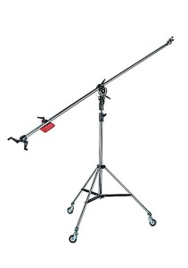 Manfrotto SUPER BOOM + statyw 008
