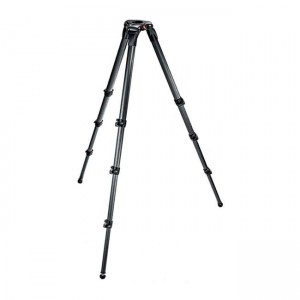 Statyw Manfrotto 536 VIDEO CF, 4 sekc. 203cm/25kg 75/100mm