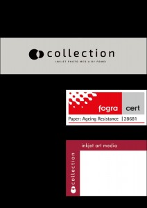 FOMEI Collection Baryta Mono 290gsm – arkusze A3+ (32,9 x 48,3cm) 50szt.
